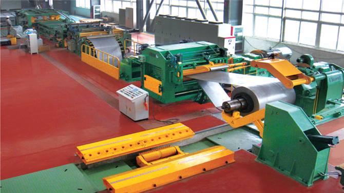 Yawei Stop Cutting Line Machine