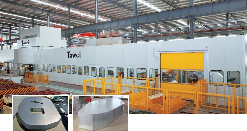 Yawei Blanking line