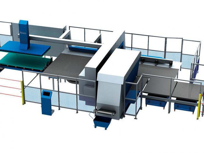 Yawei AMS. HS - FMC/FMS nc blanking composite machine tool
