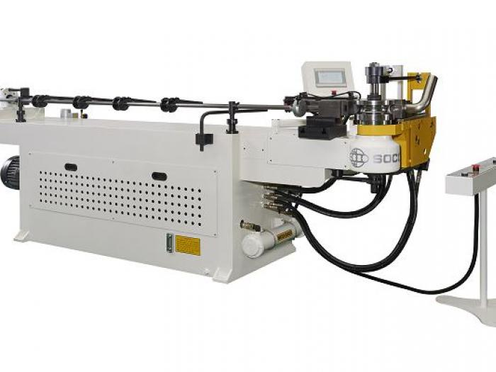 Soco's Tube Bender with NC Control and Hydraulic Tube bending Capacity OD 63.5 mm