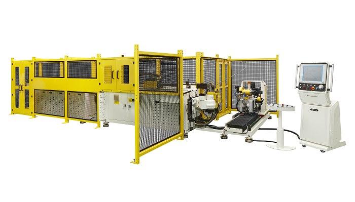 Soco's MachineTube Bender, Sawing, & Unloading