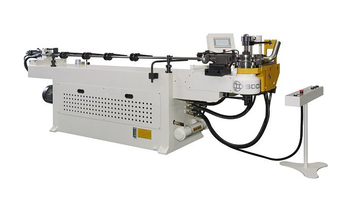 Soco's Tube Bender with NC Control and Hydraulic Tube bending Capacity OD 38.1 mm